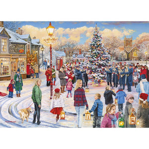 Gibsons Christmas Chorus 1000pc Jigsaw Puzzle