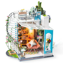 "Load image into Gallery viewer, ""Dora's Loft"" DIY Miniature Room"