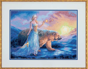 'Aurora' Counted Cross Stitch Kit by Dimensions