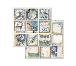 Stamperia Cosmos Scrapbooking Papers 8x8