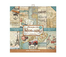 Stamperia Around the World Scrapbooking Papers 12x12
