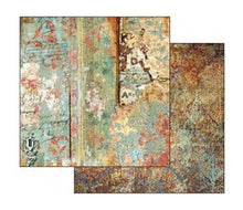 Load image into Gallery viewer, Stamperia Time Is An Illusion Scrapbooking Papers 12x12
