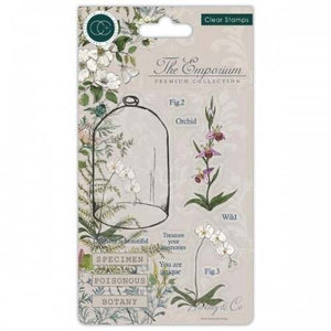 The Emporium Clear Stamps - Botany