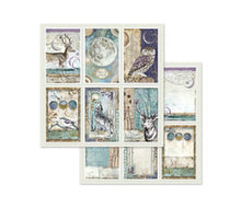 Load image into Gallery viewer, Stamperia Cosmos Scrapbooking Papers 12x12