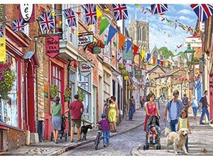 Steep Hill 1000pc Jigsaw Puzzle Gibsons