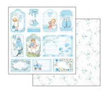 Load image into Gallery viewer, Stamperia Baby Boy Scrapbooking Papers 12x12