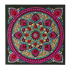 """Mandala"" Crystal Art Card Kit"