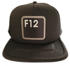 F12 PATCHWORK TRUCKER HAT