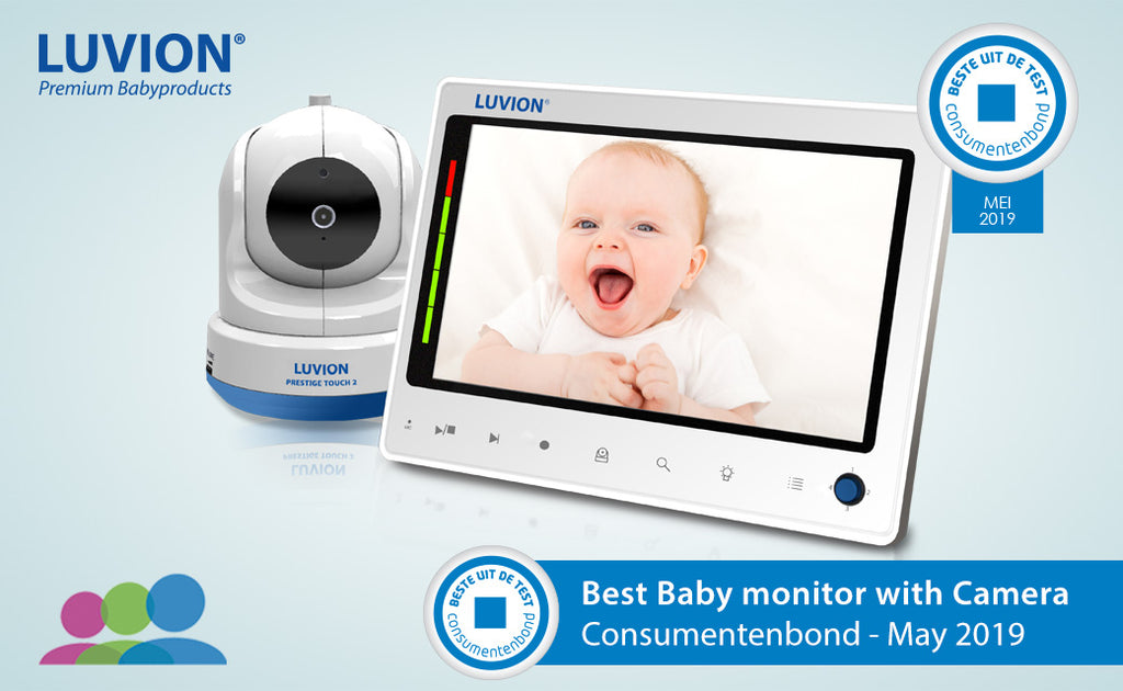 Best i test babycall Luvion Prestige Touch 2