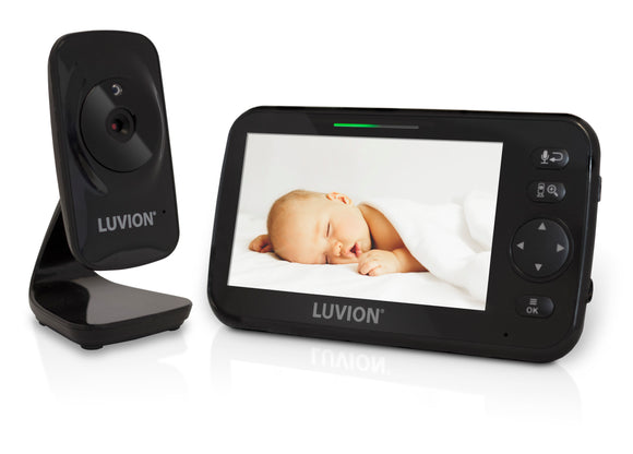 NYHET! Babycall med kamera - Luvion Icon Deluxe Black Edition og 5