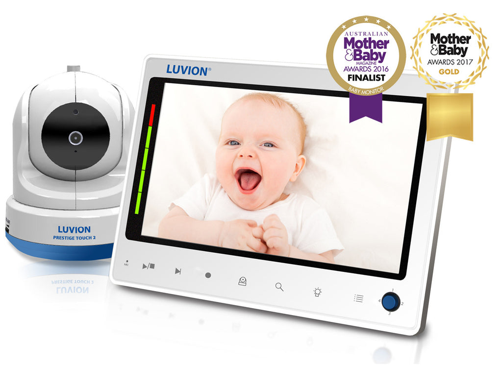 "Babycall best i test - Luvion Prestige Touch 2 digital babycall med 7"" LCD fargeskjerm"