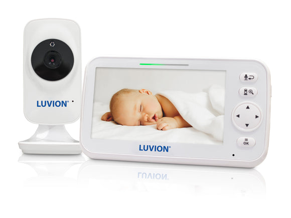 NYHET! Babycall med kamera - Luvion Icon Deluxe White Edition og 5