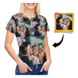 Custom Photo Women's All Over Print T-shirt