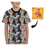 Custom Photo Kid's All Over Print T-shirt