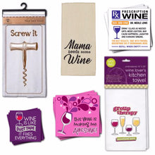 Load image into Gallery viewer, Wine Towels & Napkins