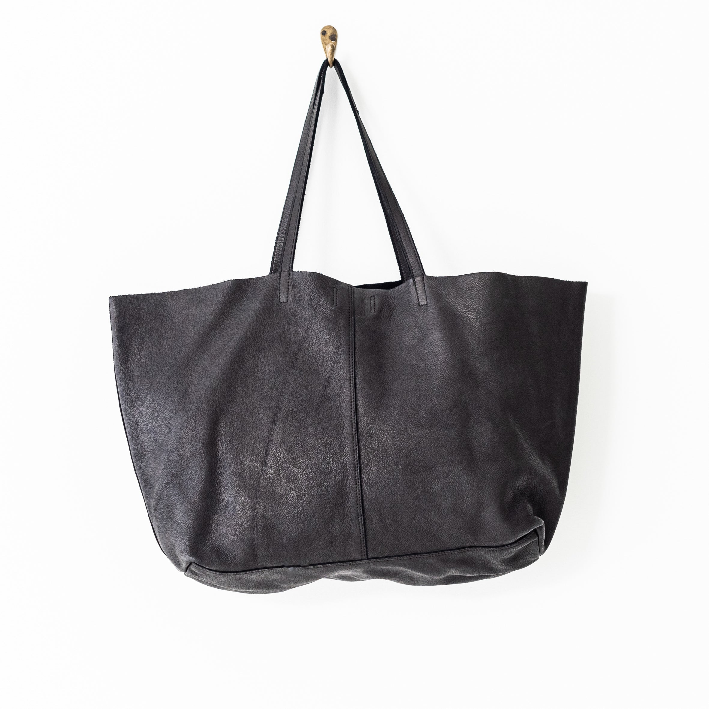unlined leather tote - Meg & Me Boutique & Espresso
