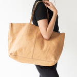 Load image into Gallery viewer, unlined leather tote - Meg & Me Boutique & Espresso