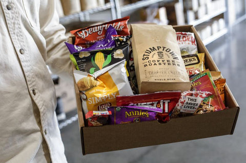 remote snacks, work from home, company culture, employee morale