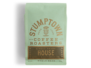 Stumptown House Blend 5lb Whole Bean - Remote Breakroom