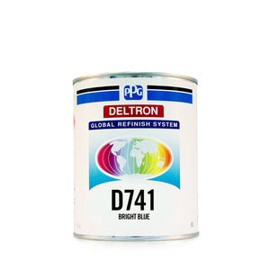 D741 Bright Blue 1 Litre