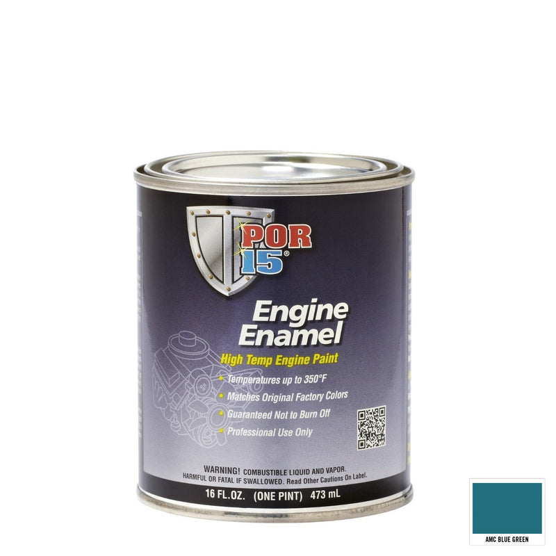 Engine Enamel AMC Blue Green Pint