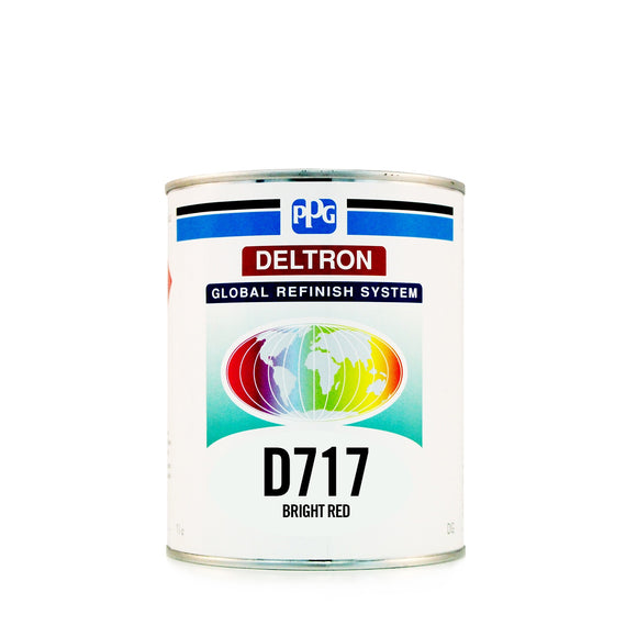 D717 Bright Red 1 Litre