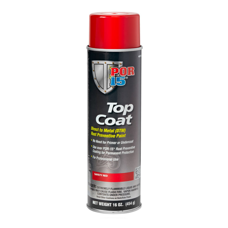 Top Coat Safety Red Aerosol