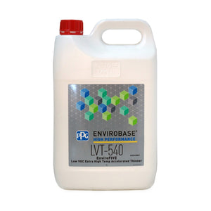 LVT-540 EnviroFIVE Extra High Temp Accelerated Thinner 5 Litre