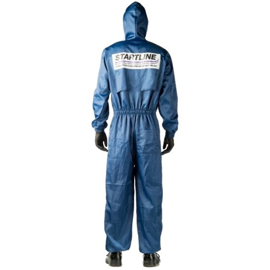 Premium Blue Spray Overall Medium