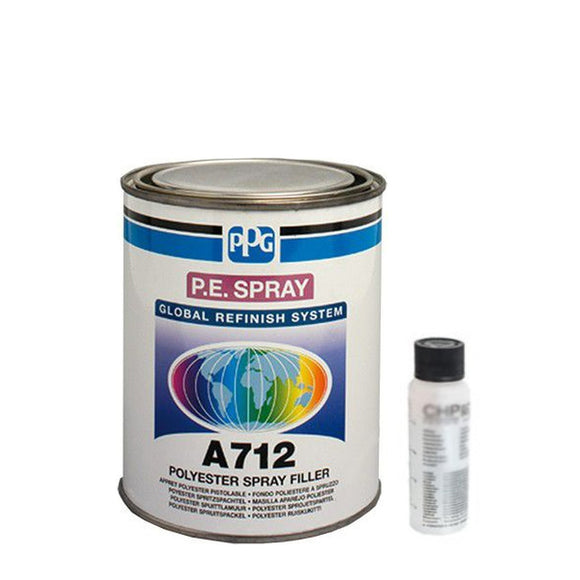 A712 Polyester Spray Filler 1 Litre