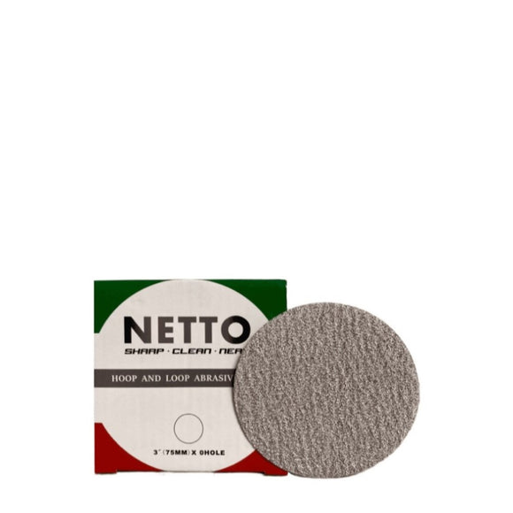 Netto 75mm Sanding Disc 100/Box P400