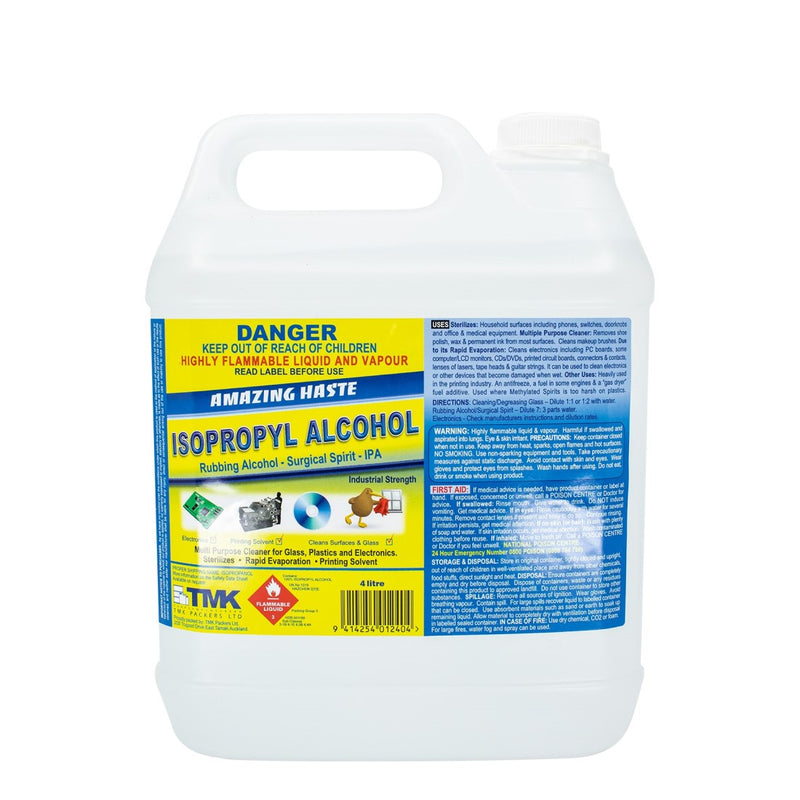 Isopropyl Alcohol 4 Litre