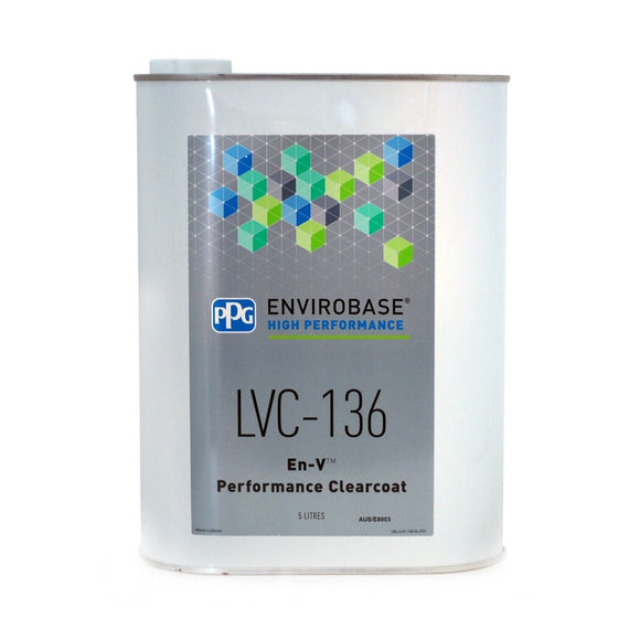 LVC-136 En-V Performance Clearcoat 5 Litre