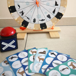 Arctic Animal Shadow Reaction Game