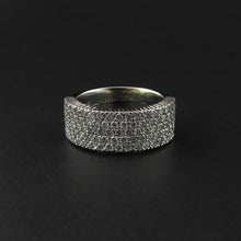 Load image into Gallery viewer, Five Row Diamond Set Ring