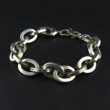 Load image into Gallery viewer, Hollow Oval Link, Chunky Bracelet