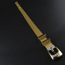 Load image into Gallery viewer, Gold Mesh Buckle Bracelet