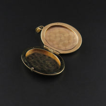 Load image into Gallery viewer, Gold Oval Locket