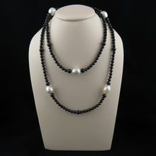 Load image into Gallery viewer, South Sea Pearl and Spinel Beaded Long Necklace