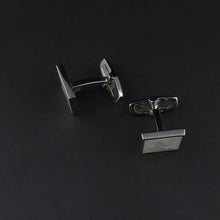Load image into Gallery viewer, Square Mother of Pearl Cufflinks