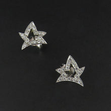 Load image into Gallery viewer, Fancy Star Diamond Studs