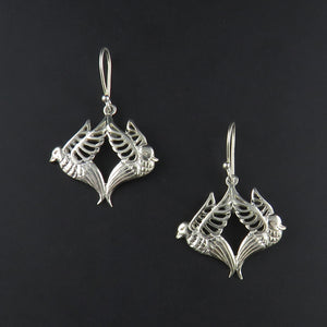 Bird Drop Earrings