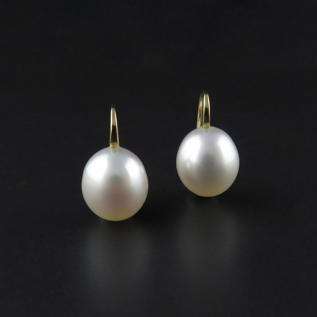 South Sea Pearl Drop Earrings
