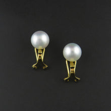 Load image into Gallery viewer, South Sea Pearl Clip on Earrings