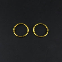 Load image into Gallery viewer, Gold Sleeper Earrings