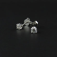 Load image into Gallery viewer, Diamond Stud Earrings
