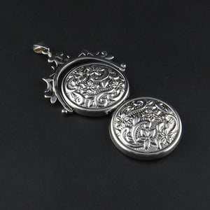 Spinner Locket Pendant