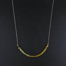Load image into Gallery viewer, Yellow Sapphire Necklace