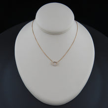Load image into Gallery viewer, Oval Diamond Necklace