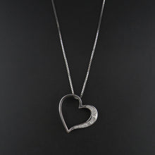 Load image into Gallery viewer, Heart Diamond Pendant